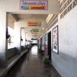ทางเดินในอาคารเรียน